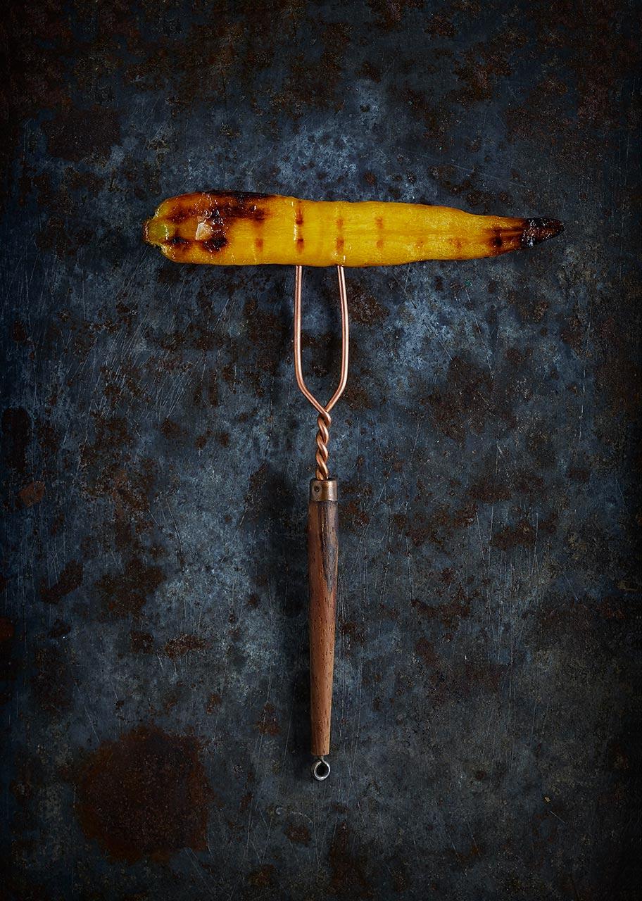 Grillet gulerod