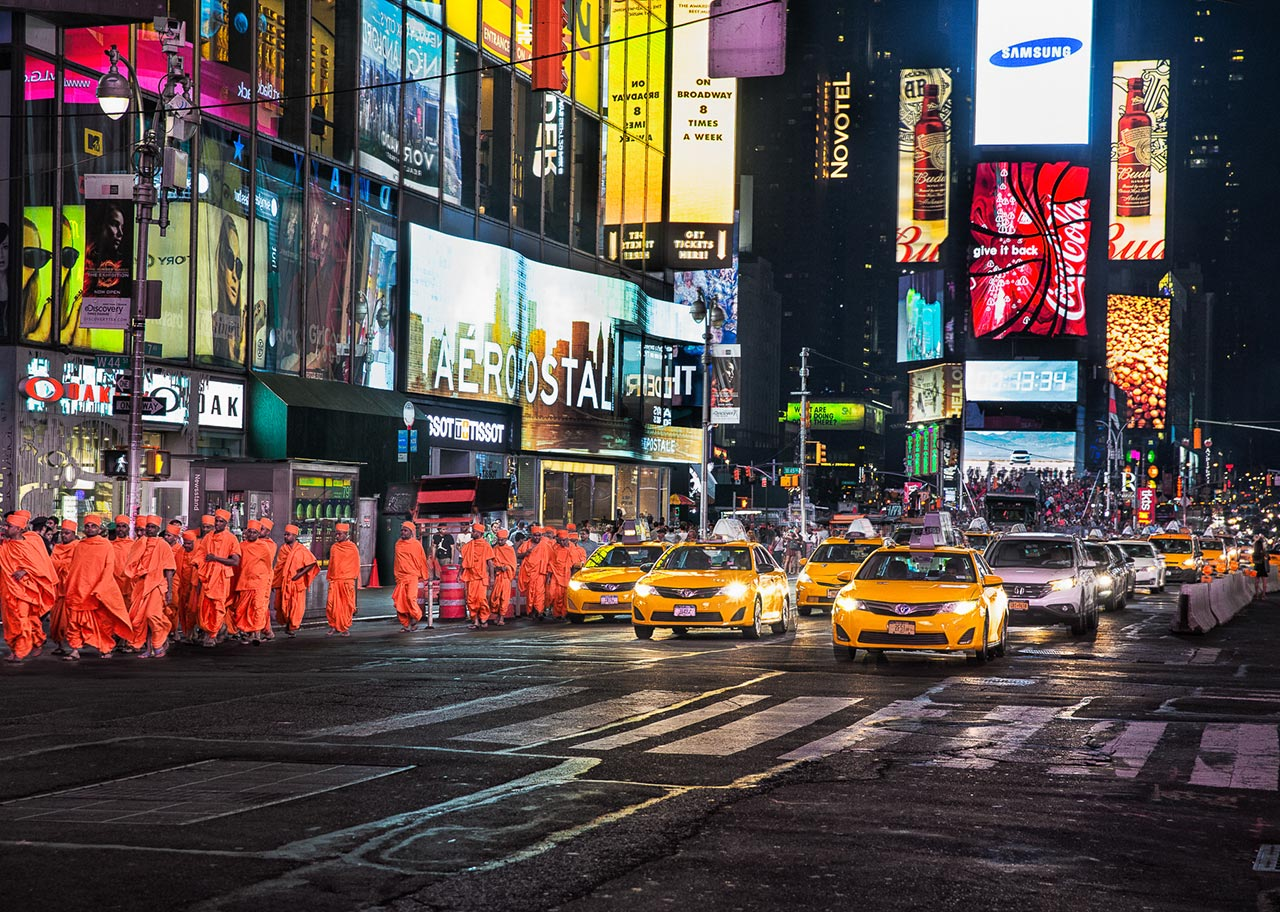 Monks in NYC