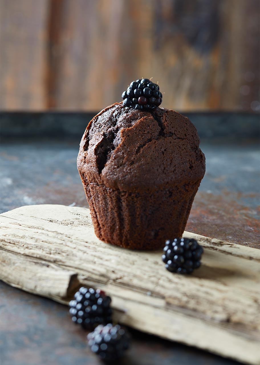 Muffin brombær